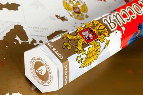 1, 2, 3 или 10 эксклюзивных подарочных скретч-карт России, Европы или мира от компании S-maps. Уникальный подарок! Скидка до 44%