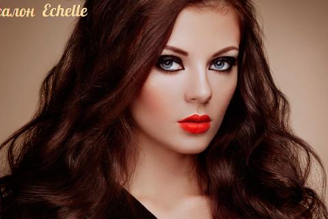 Парикмахерские услуги в студии красоты Echelle: стрижка, безаммиачное тонирование Revlon, мелирование, spa-уход и не только! Скидка до 88%