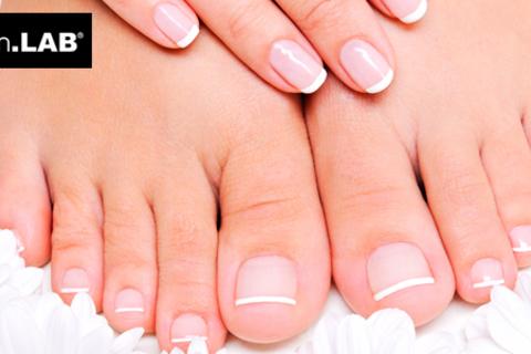 Ногтевой сервис в салоне красоты «Гарден»: spa-маникюр и spa-педикюр с цветным покрытием или Shellac! Скидка до 64%