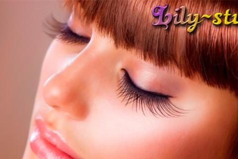 Наращивание ресниц норкой в салоне Lily Beauty Studio: полный объем, техника MIX, 3D-эффект, коррекция и окрашивание бровей. Скидка до 54% от КупиКупон