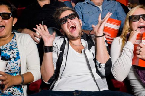 Билеты на посещение 9D-Cinema сектора кинотеатров «Киномакс», «Большой» или «Чарли» со скидкой 50%