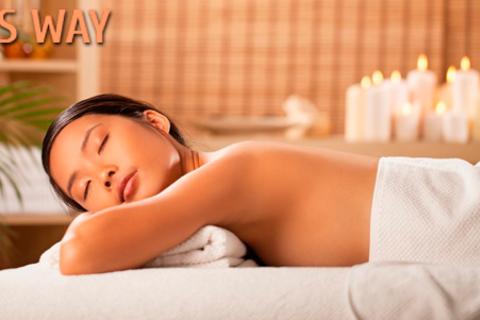 Spa-программа «Королевское наслаждение» (кедровая бочка, пилинг, обертывание, массаж и не только) или сеансы массажа на выбор в салоне красоты ELLIS WAY. Скидка до 90%