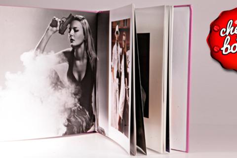 Печать premium-альбома или фотокниги в твердом переплете от компании CherryBook.  Скидка 60%
