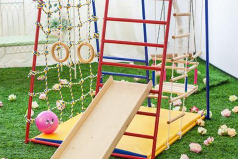 Новые улучшенные детские спортивные и игровые комплексы Baby Hit в магазине «Огниво-Спорт». Бесплатная доставка. Ваш ребенок будет расти подвижным и здоровым! от КупиКупон